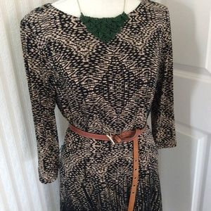 Anne Klein Midi Dress Size 8